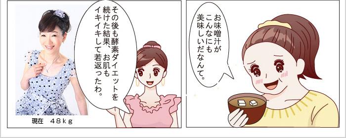 酵素ダイエット漫画